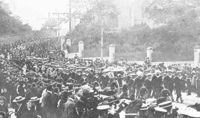 The Funeral Procession.