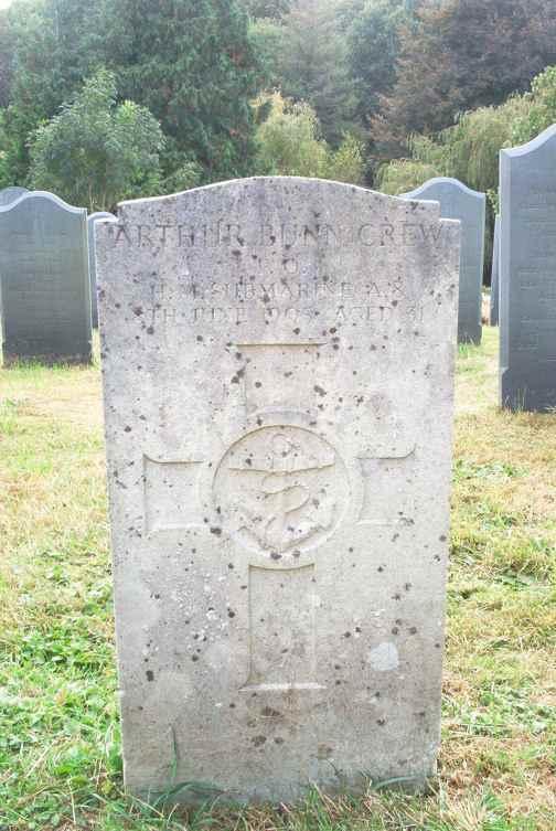 Arthur Bunn Crew aged 31.
