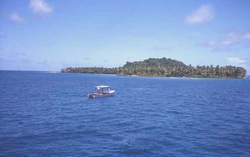 One of the islands that dot the Lagoon.