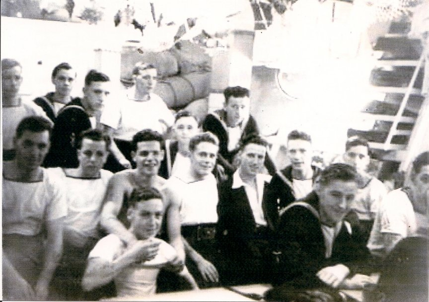 17 Mess and Royal Marine Gunners. Photos courtesy of Lawrence Ives