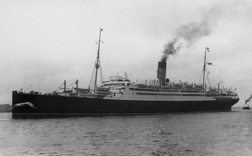 The Troopship Franconia