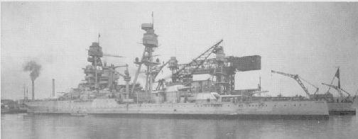 The Arizona at Puget Sound on Jan 1941.