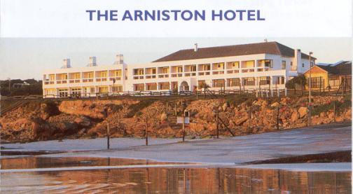 The Arniston Hotel.