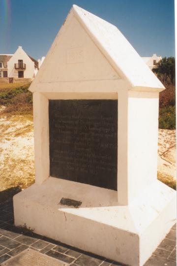 The Arniston Memorial.