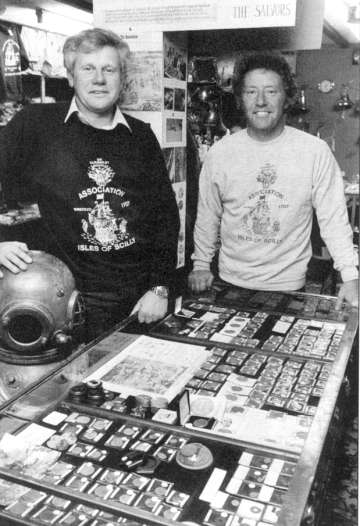 Jim Heslin and Terry Hirron.(photo Paul Armiger)