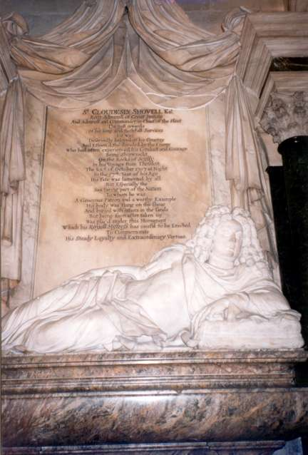 The Memorial at Westminster Abbey.