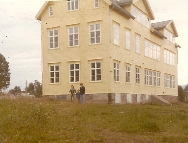 School at Ballengen where the sailors were housed. Photo supplied by Bill Sanders