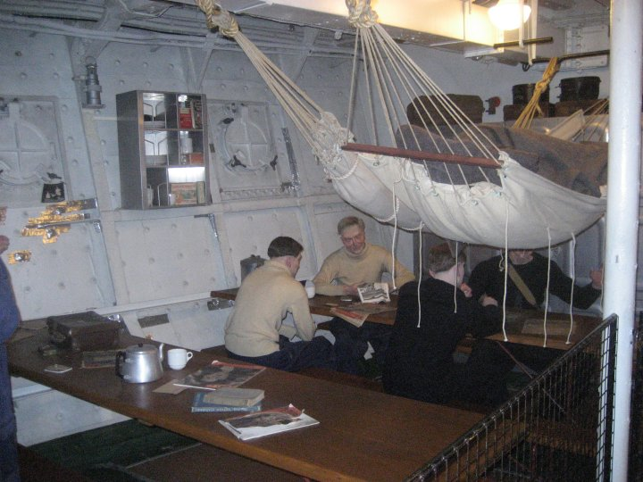 My introduction to life aboard ship-broadside messing.