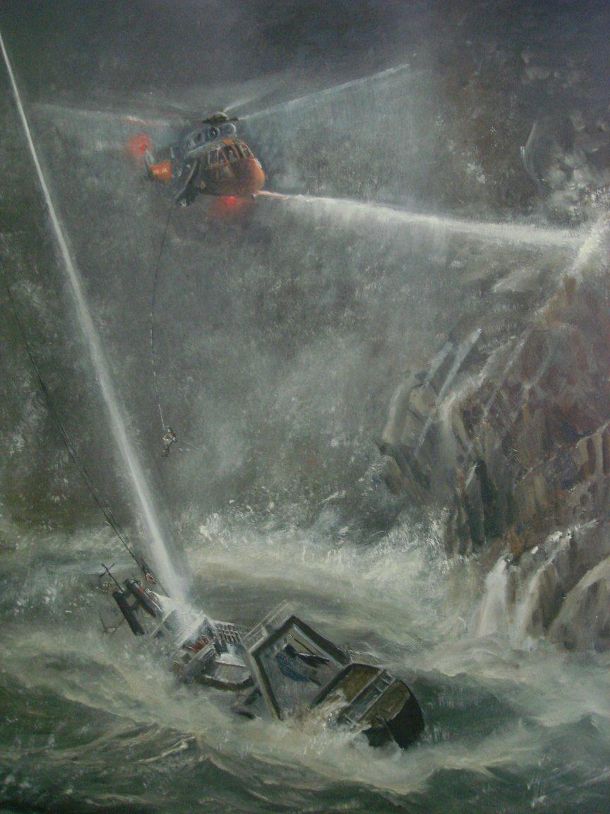 Painting by John Hamilton