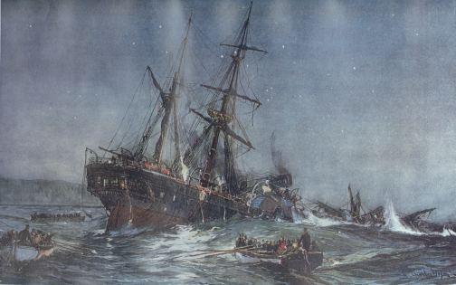The tragic loss of the Birkenhead.