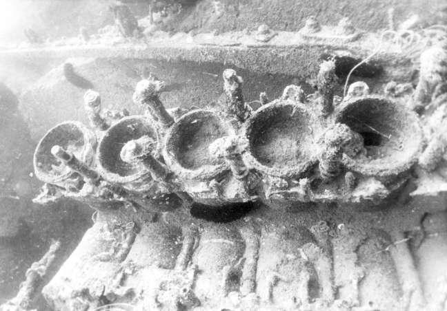 One of the engine blocks.