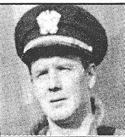 Clark Page the Gunnery Officer.