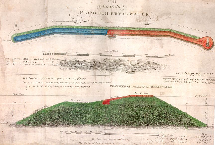 Original map showing slope calculations.