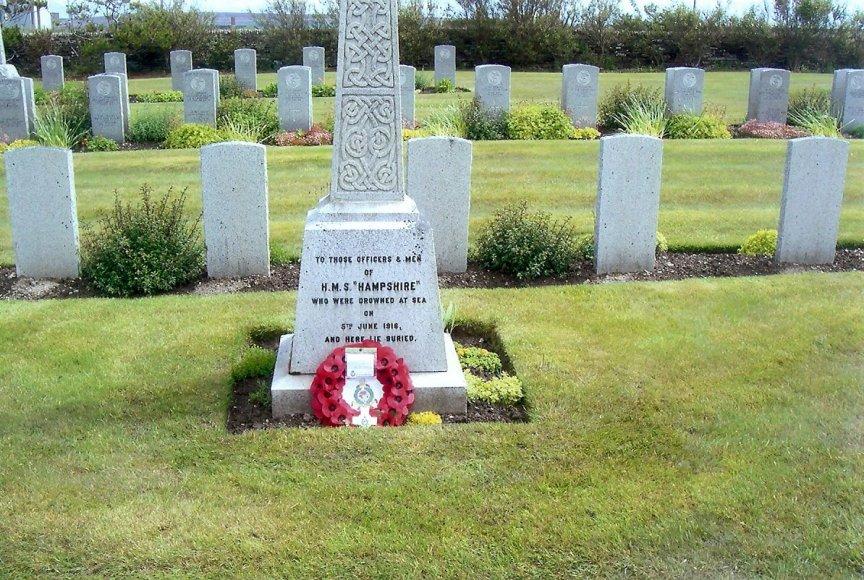 Lyness Cemetery.