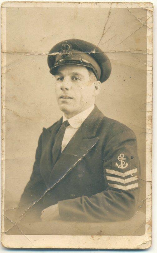Toni Briffa who was a shipmate of Anthony.