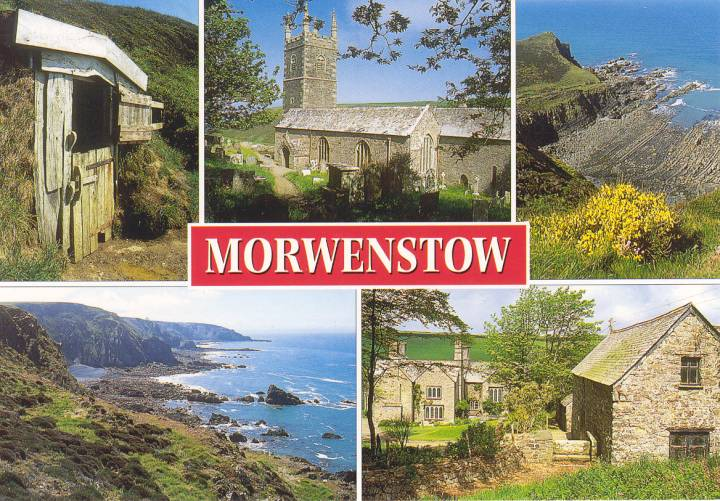 Postcard from Morwenstow.