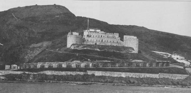 Staddon Fort and Bovisand Battery.