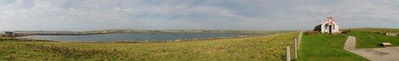A wonderfull panorama. Photo Peter Rowlands.