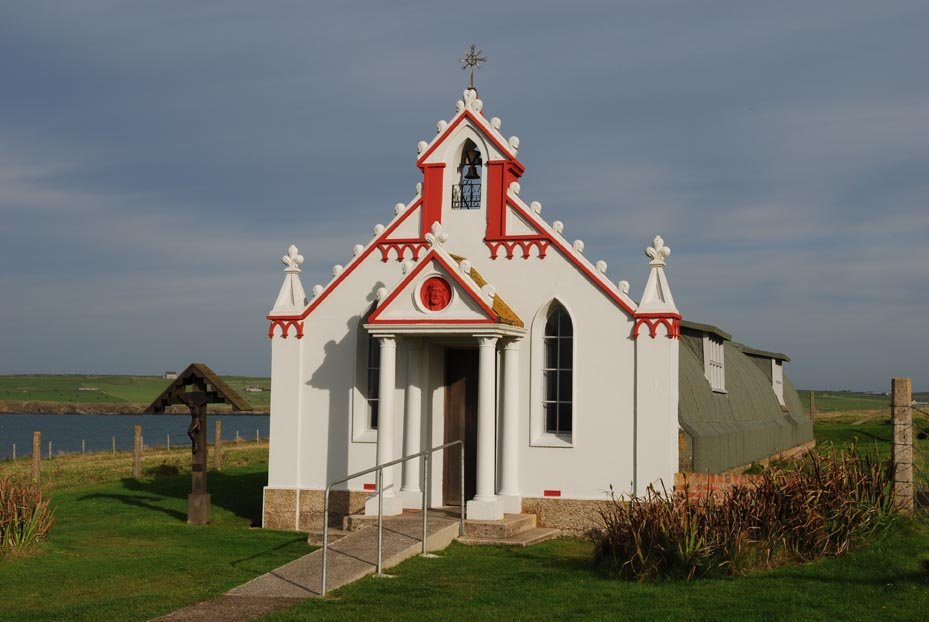 The Italian Chapel.Photo Peter Rowlands.
