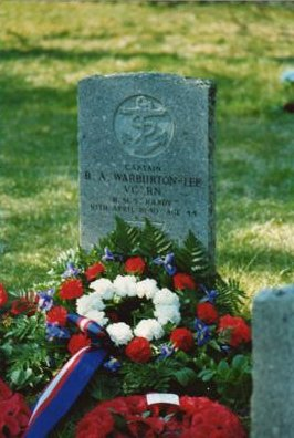 The grave of Capt. Bernard A.W. Warburton-Lee.VC.
