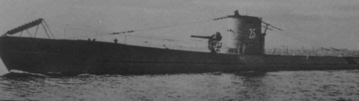 U-boat 25 waiting at Baroy to see where the destroyers went. U-51 was in the Vestifjord.