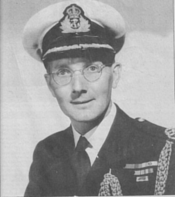Paymaster Lt. G. Stanning.