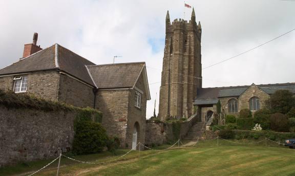The Parish Church of St Nicholas and St Cyriac.