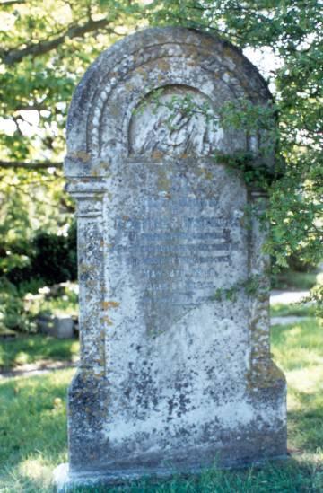 The Captains Grave.