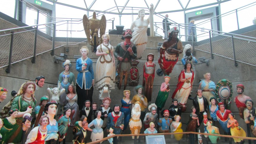 A great collection of figureheads.