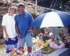 Photo of Kimio's grave courtesy of Dianne.M.Strong