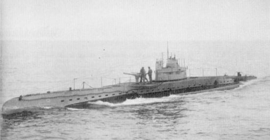 An example of a UB. class boat.