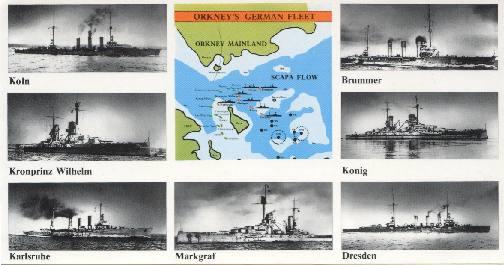 Scapa Flow Postcard.