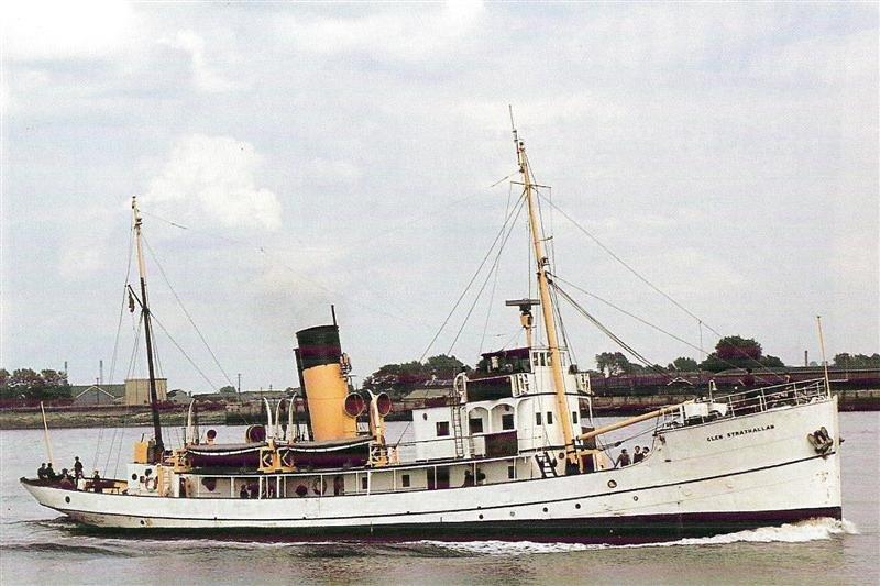 GSA ----- Steaming past Tilbury. Photo's Marine News-----Cris Isaac.