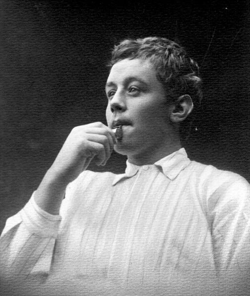 August Lassen, the boy seaman who blew the whistle.