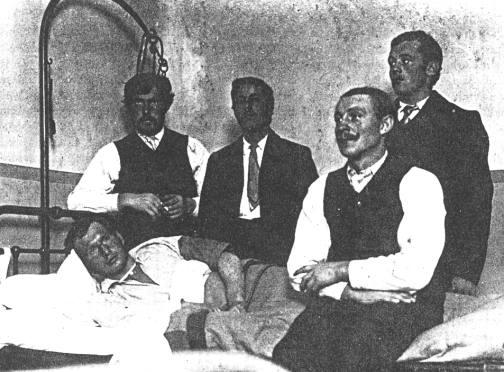 The five survivors.