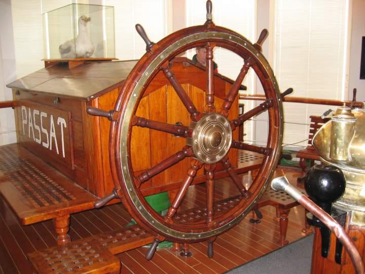 Ships Wheel.