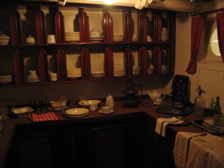 Captains Pantry.