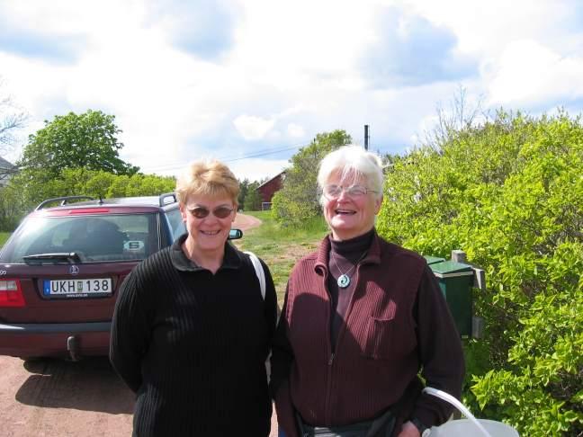 Joyce and Freyja.