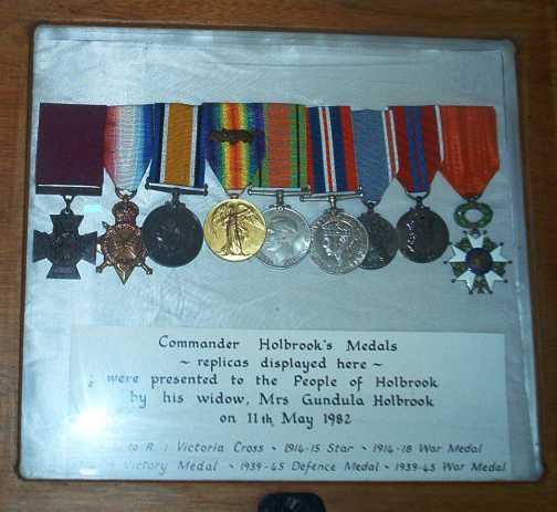 Holbrooks Medals