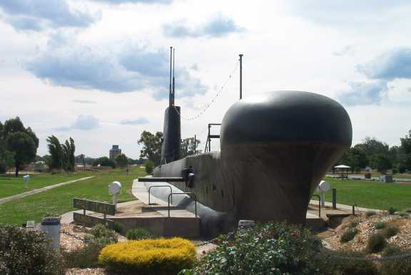 H.M.R.A.N. sub Ottway in Holbrook.