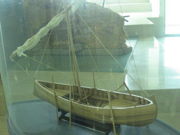 This is what the complete boat would have looked like.