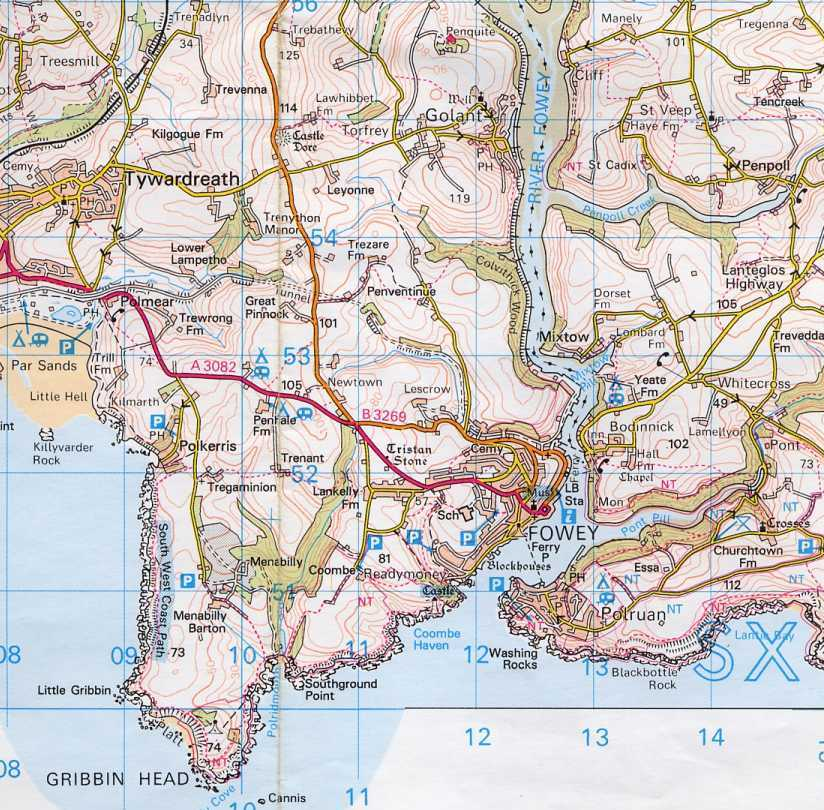 Find Coombe Haven on the map.
