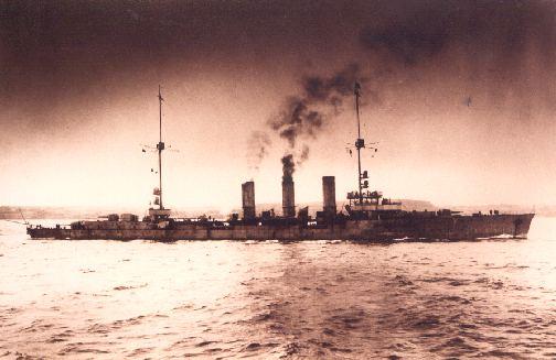 The Light Cruiser Koln.