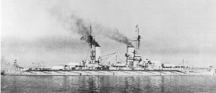 The battleship Konig.