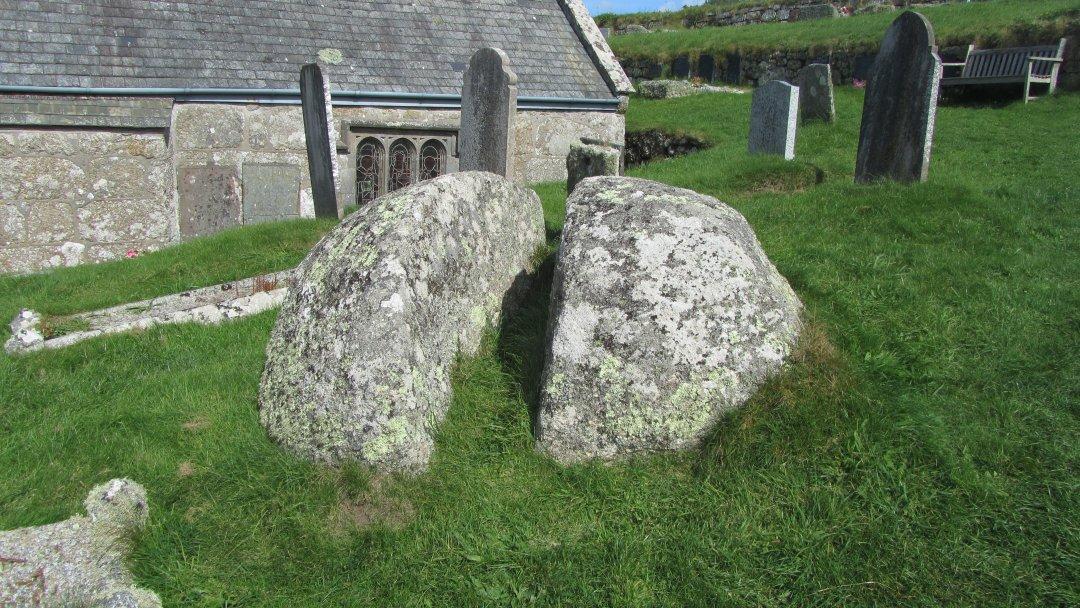 The St.Levan Stone.