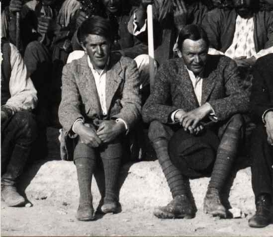 Lawrence and Leonard Wooley at Carchemish 1913