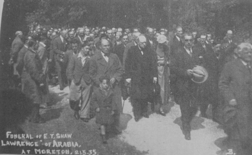 The Funeral with Churchill attending.