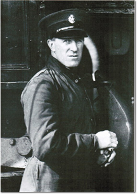 Lawrence in R.A.F.uniform.