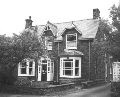Lawrences birth place 'Gorphwysfa'in Tremadog, Wales.