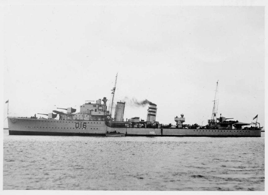 H.M.S.Ivanhoe.